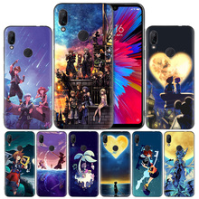 Anime Kingdom Hearts Black Silicone Case Cover for Xiaomi Mi 9 8 Play A1 A2 Redmi Note 7 6 6A 5 Plus S2 GO Lite Pro Pocophone F1 стоимость