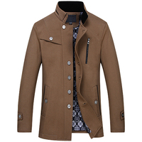 Large Size S M 8XL Cotton 100 Mens Long Sleeve Jackets Fashion Business Men Fall And