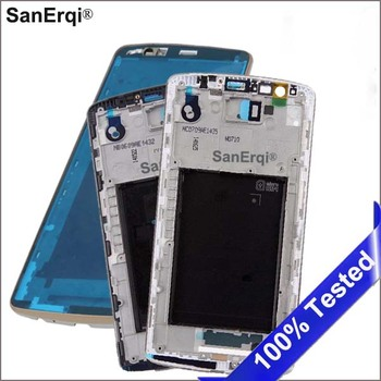 SanErqi 10pcs LCD Holder Screen Front Frame Housing Case For LG G3 D850 D851 D855 Replacement Parts