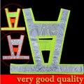 good quality V shape visibility Reflective Vest conspicuity vest warning reflective safety vest traffic vest free shipping