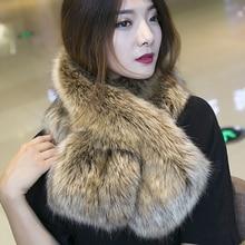 цена на MIARA.L 2018 high quality Winter scarf  lovely warm faux fur scarf pure color copy fox fur pashmina for women wholesale