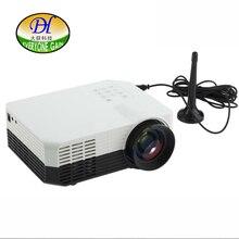 Todos Ganan TL80 + led LCD proyector proyector digital con una antena AV/HDMI/USB/DVB-T2 beamer