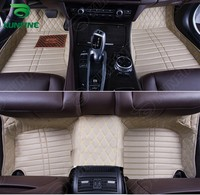 Top Quality 3D Car Floor Mat For NISSAN X TRAIL Foot Mat Car Foot Pad 4