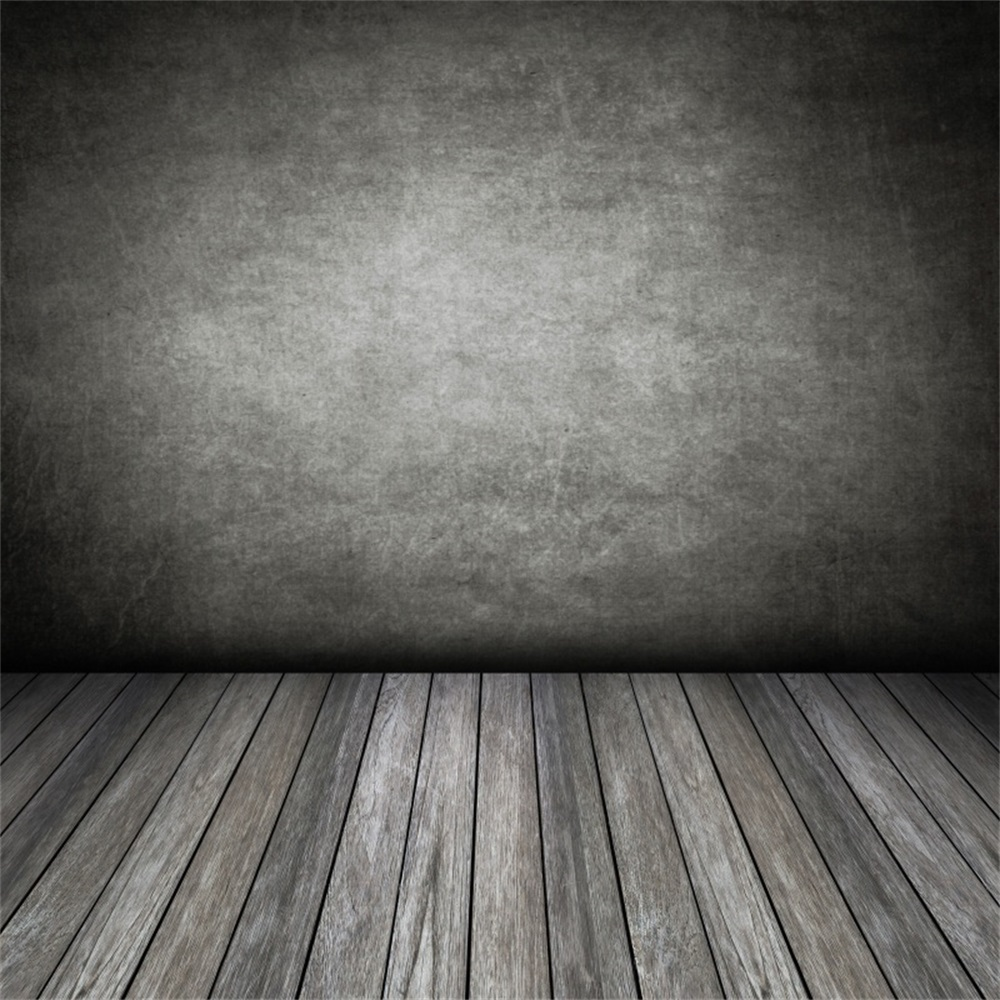 Laeacco Old Gradient Dark Wall Wooden Floor Portrait Photography Backgrounds Customized Photographic Backdrops For Photo StudioLaeacco Old Gradient Dark Wall Wooden Floor Portrait Photography Backgrounds Customized Photographic Backdrops For Photo Studio