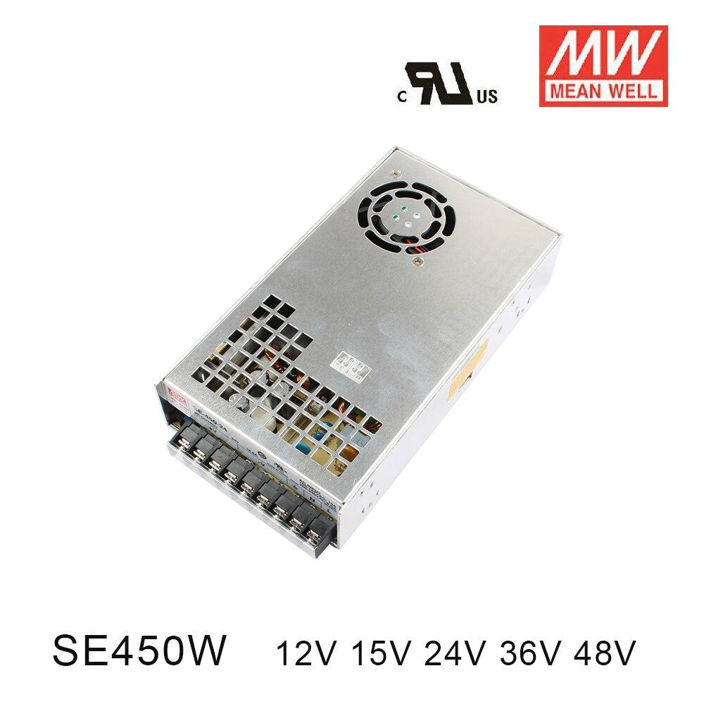 Оригинал MEAN WELL блок питания переменного тока в dc питание 450 Вт 12 В 37.5A 15 30A 24 18.8A 36 12.5A 48 9.4A MEANWELL