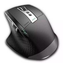 Новинка, перезаряжаемая многорежимная Беспроводная мышь Rapoo 3200DPI, переключение между Bluetooth 3,0/4,0 и 2,4 ГГц для подключения четырех устройств