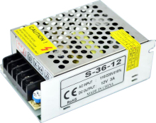 E4 12V 3A LED Strip Power supply 36W led 12v dc Switching power supply DC12V led adapter DC12V LED Lights Driver