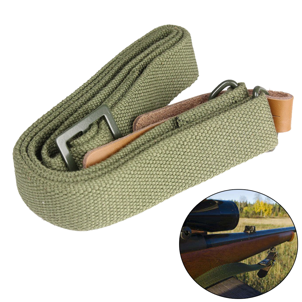 Airsoft AK Rifle Sling Tactical 47 Quick Release Gun Sling Strap Adjustable Camera Shotgun Sling Shoulder Strap