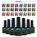 Elite99 Chameleon Cat's Eye Gel Polish With 1 Magnet Soak Off UV Gel Need Magnet to Effect Amazing Color Changing UV Color Gel