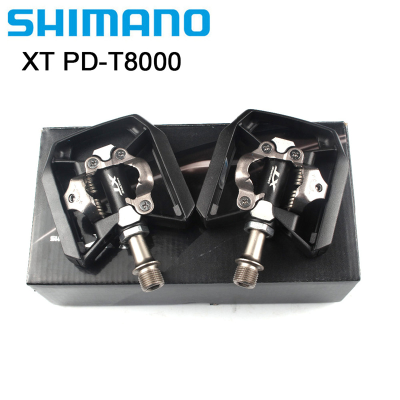 2019 new shimano XT PD T8000 mtb mountain bike bicycle pedals self locking pedal High quality