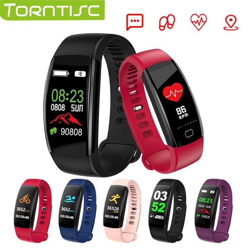 Unterhaltungselektronik Torntisc F64hr Fitness Armband Herz Rate Smart Band Ip68 Wasserdichte Blutdruck Sauerstoff Aktivität Tracker Gps Smart Watch VerrüCkter Preis