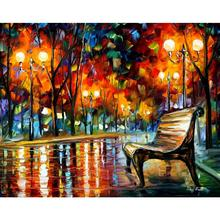 Hand painted landscape oil pictures canvas large wall painting why did she leave II pop art for living room decor