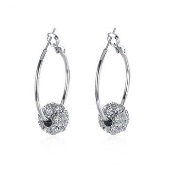 11df6414f7af SHDEDE corazón Diamante de imitación de cristal de Swarovski collares  clásicos colgantes para ...