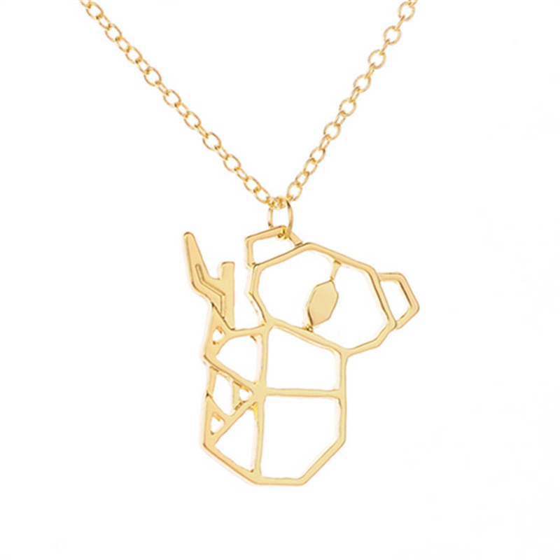 HPXmas Fashion European Cute Hollow Otter <font><b>Koala</b></font> <font><b>Bear</b></font> on trees Animal pendant necklace For women Girl <font><b>Jewelry</b></font> gift A83 image