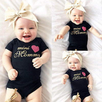 bb4da7478 New Infant Baby Girl Boys Stylish and comfortable Romper Jumpsuit cute Body Outfits  Newborn Clothes 0-18M