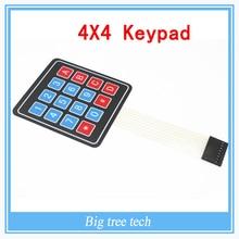 4 x 4 Universial 16 ключ зажигания клавиатура для Arduino uno r3, Мега 2560, Из-за комплекты