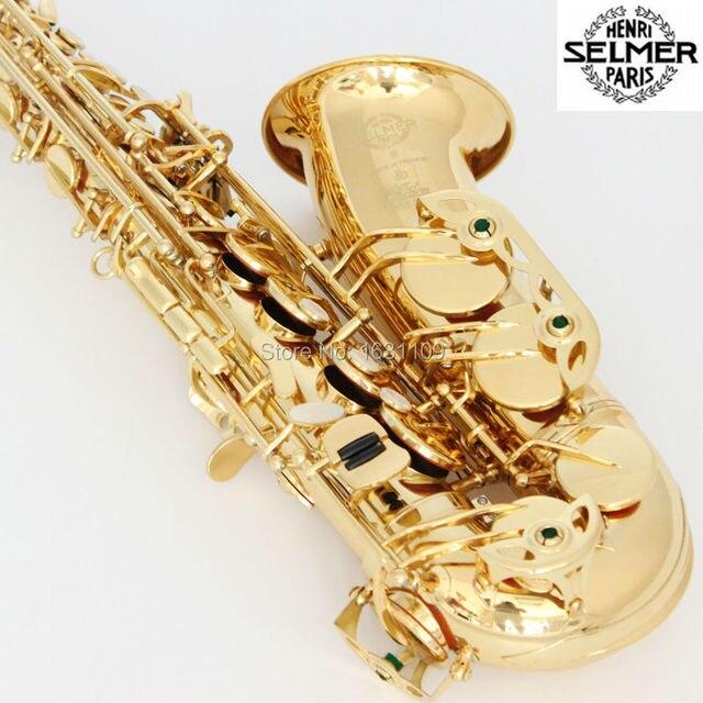 Бесплатная доставка подлинная франция сельмер Baritonsaxophon альт саксофон 803 профессиональный E мундштук Sax saxofone # 27