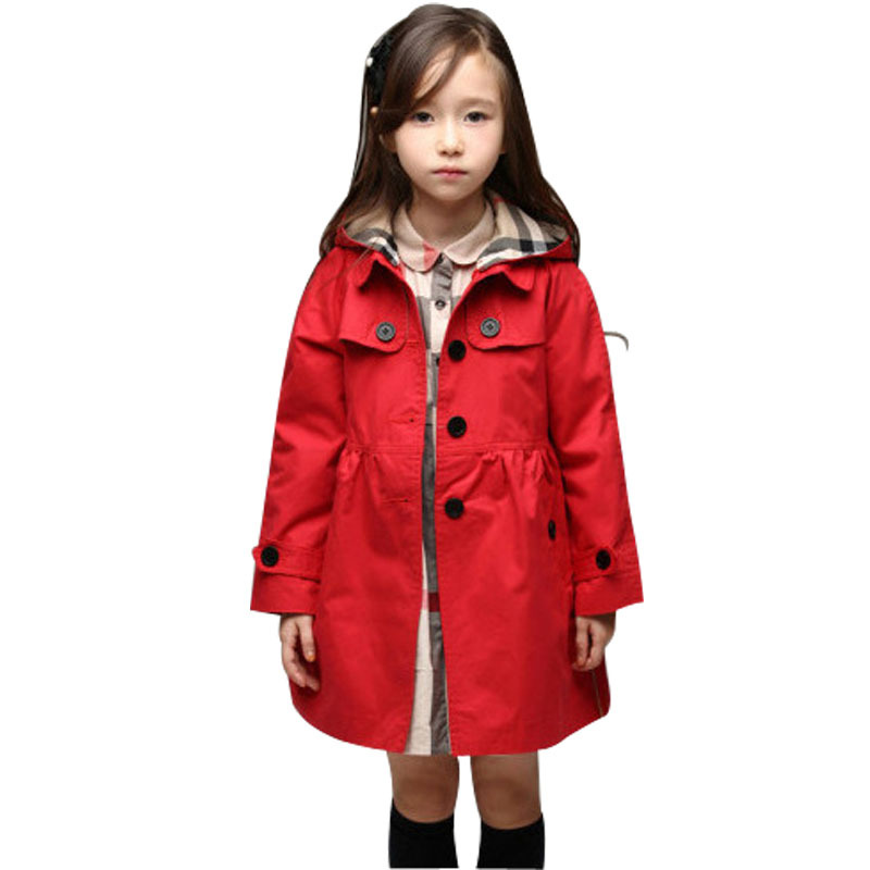 Aliexpress.com : Buy Spring Children Girls Trench Kids Baby Girl ...