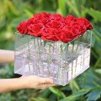 バレンタインの日ローズフラワー収納ボックス
