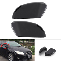 Areyourshop Left&Right Rearview Mirror Cover Cap Side Mirror Shell For Ford Focu 2012 2014 Rearview Mirror Cover Cap Car Parts