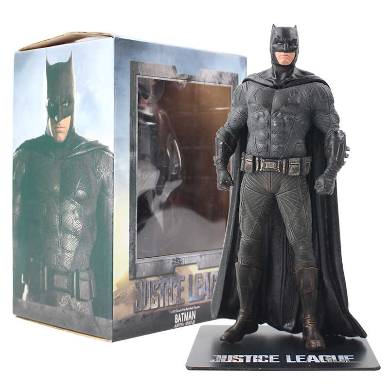 18 centímetros Justice League Batman ARTFX + ESTÁTUA 1/10 Escala Pré-Pintada Figura Super Hero Bat Man PVC Figura collectible Modelo Toy