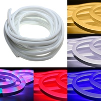 10 m Led Neon Rope Strip Bar Ánh Sáng Waterproof 120 leds/M SMD 2835 SMD LED Strip Nhẹ Flex mềm 220 V EU Cắm
