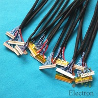 Common Used Universal LVDS Cable For LCD Display Panel Controller Support 14 26 Inch Screen 18pcs