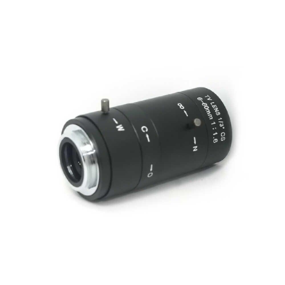 6-60 mét CS C Mount Lens Nhãn IRIS Ống PHÓNG Varifocal F1.6 cho CCTV Camera Kính Hiển Vi Công Nghiệp