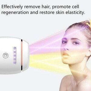 Image 3 - Depiladora láser IPL para mujer, depilación permanente, táctil, cuerpo, piernas, Bikini, fotodepiladora