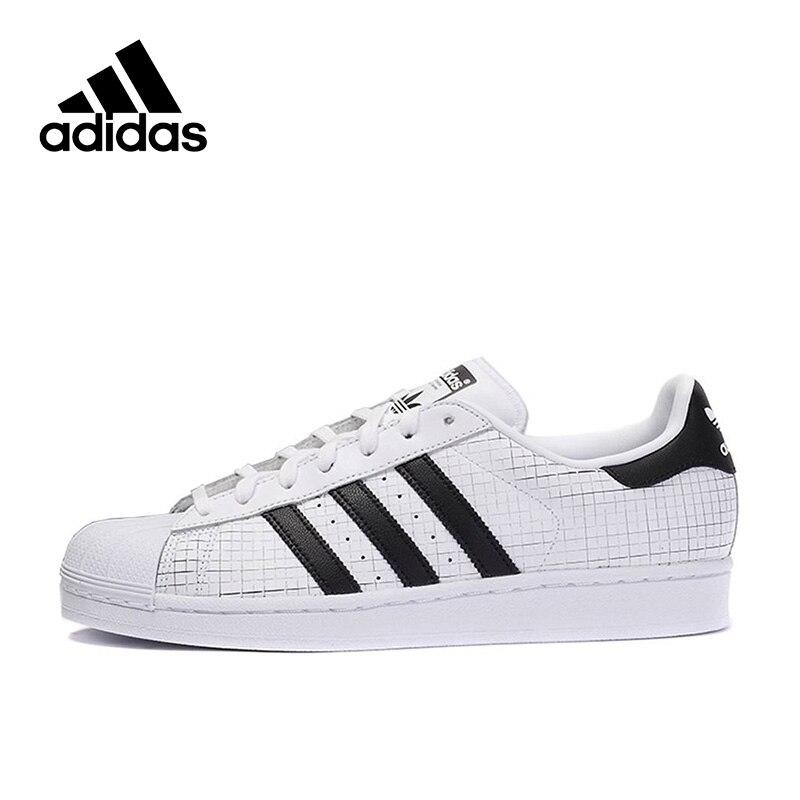 Prix pour Original Nouvelle Arrivée Authentique Adidas Superstar Hommes de Planche À Roulettes Chaussures Sneakers