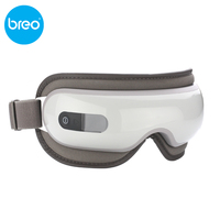 KIKI Beauty world New style Breo isee16 Air pressure Eye massager with mp3 eye magnetic far infrared heating eye care tools