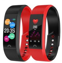 F6 Smart Bracelet Heart Rate Monitor Waterproof Fitness Tracker Bluetooth Watch Band For Android IOS Women Men Wristband