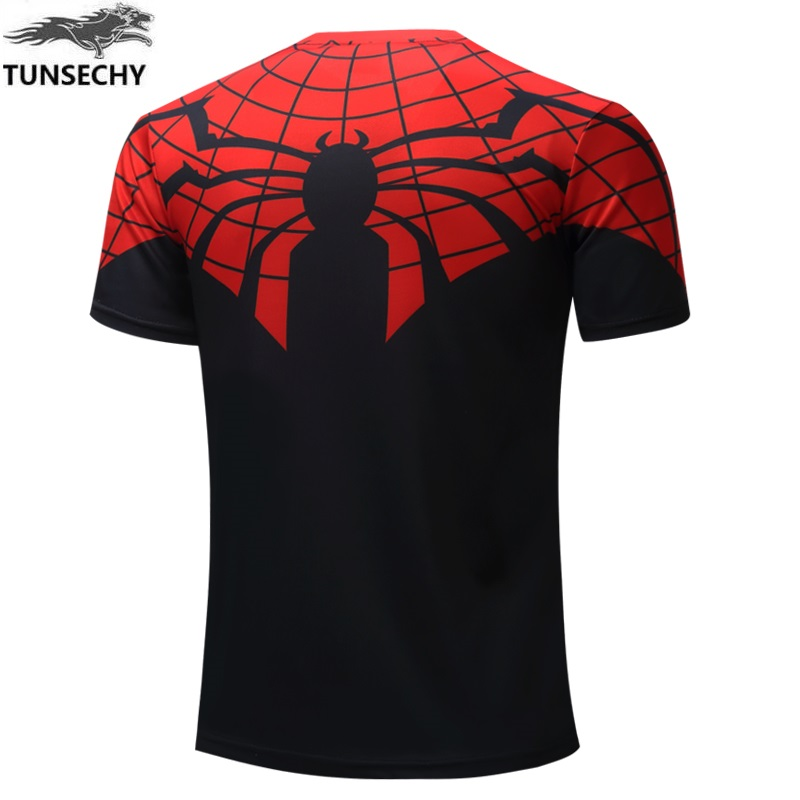 Batman Spiderman Ironman Superman Captain America Winter soldier T shirt Avengers Costume Comics Superhero mens 48