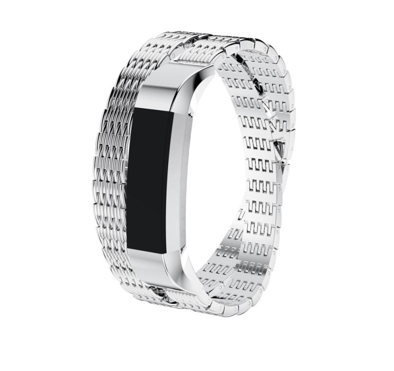 HL 2017 Genuine Stainless Steel Watch Bracelet Band Strap For Fitbit Alta HR/for Fitbit Alta Watch drop shipping oct24