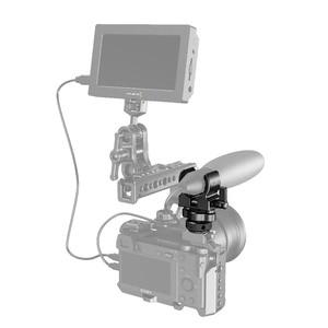 Image 4 - Smallrig Dslr Camera Kooi Microfoon Houder (Koude Schoen) met 19 25Mm Diameter Microfoon Shock Klem Houder 2352