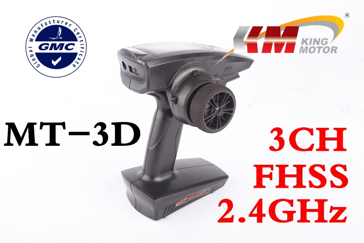 MT-3D 2.4GHz 3-Channel 3CH Digital Surface Radio R/C RC Car/Boat Transmitter TX 3 9 lcd 2 4ghz 3ch transmitter