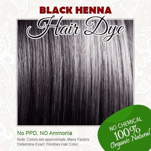 Online Shop Free Shipping Black Henna Hair Dye 100 Organic And