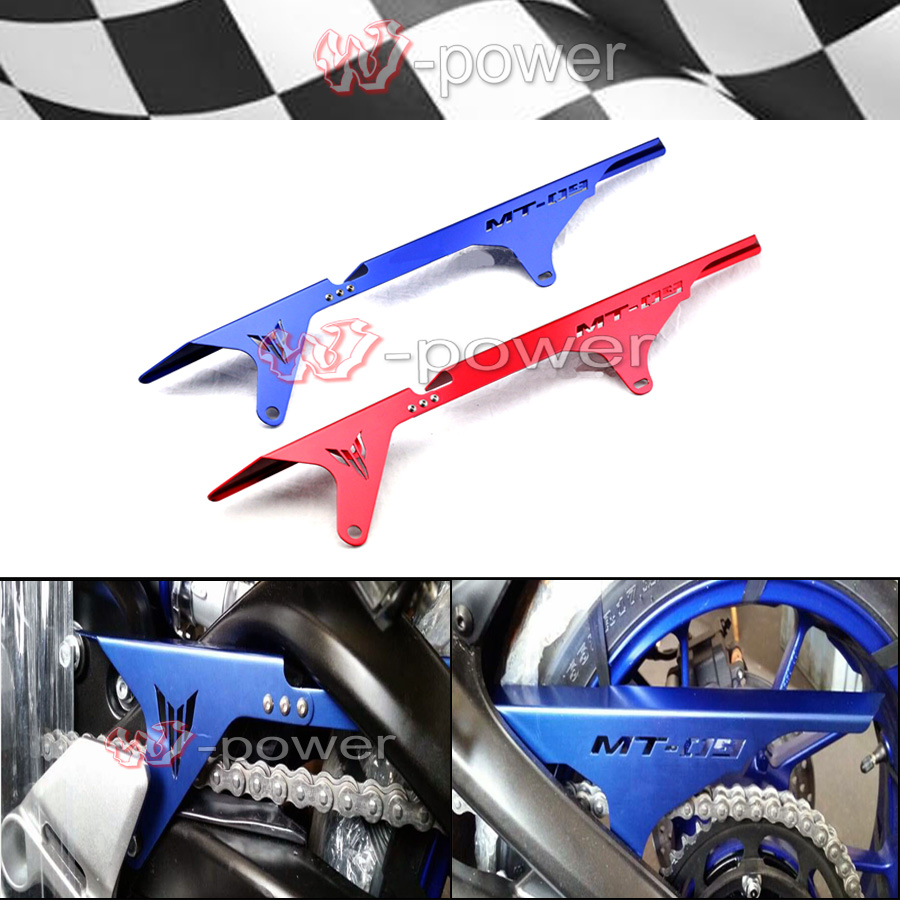 For Yamaha MT09/FZ09 2014-2016, FJ-09 / MT-09 Tracer 2015-2016 Motorcycle CNC Aluminum Chain Guards Cover Protector cnc short adjustable brake clutch lever for yamaha fz07 fz 07 mt 07 mt07 fz 09 fz09 mt 09 mt09 fj09 fj 09 tracer