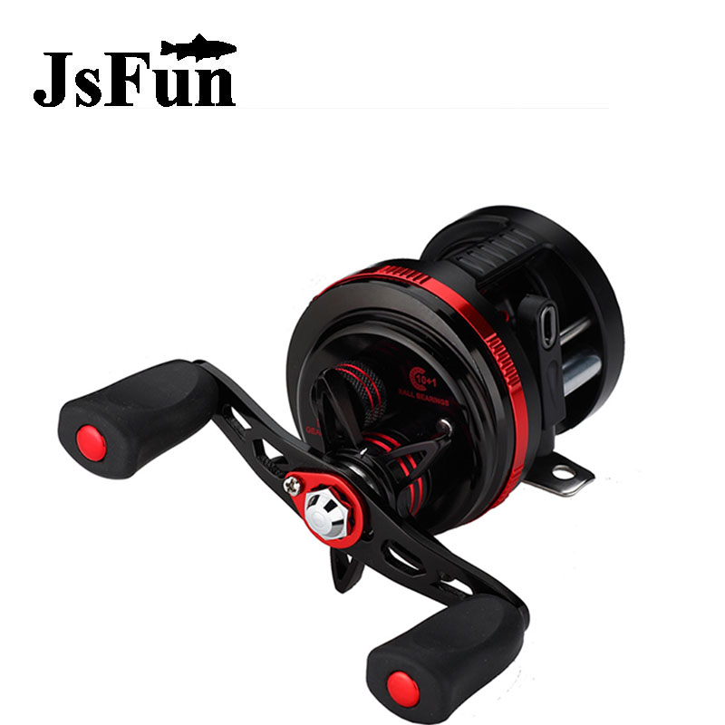 JSFUN DE Series Fishing Bait Casting Left/Right Magnetic Brake Water Drop Wheel 10+1 Ball Bearings With Mixed Drum Case fr11 nunatak original 2017 baitcasting fishing reel t3 mx 1016sh 5 0kg 6 1bb 7 1 1 right hand casting fishing reels saltwater wheel