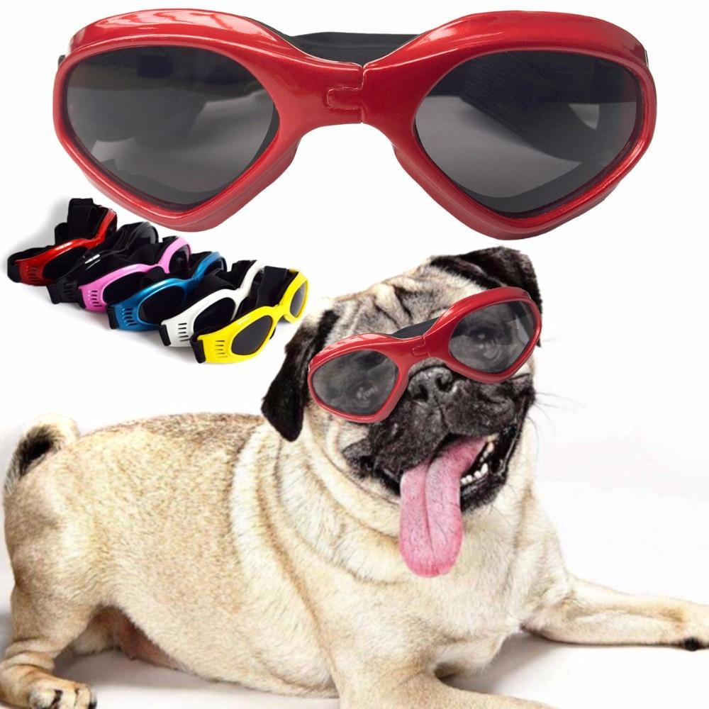 2237862b47 Gafas de sol para perros y gatos con estilo con protección UV para los  ojos, gafas de protección para los ojos, gafas de espuma ajustables para  perros