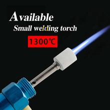 8ml Gas Blow Torch Soldering Solder Iron Gun Butane Cordless Soldering Pen Burner Butane Torch Soldering Iron 1300 degree gas blow torch soldering solder iron cordless butane tip tool welding pen burner 8ml welding soldering kit