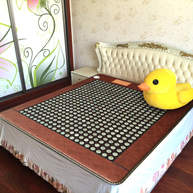2018 NEW Heating Jade Electronic Heat Bed Cushion Pad Physical Therapy  Cushion Bed Mattress