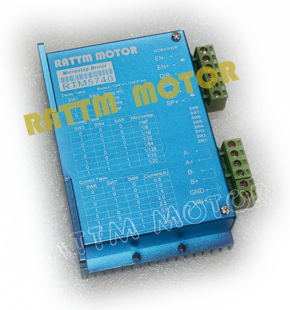 hight resolution of com buy hot rtm vdc a microstep cnc rtm5740 50vdc 4a 128 microstep cnc stepper replace
