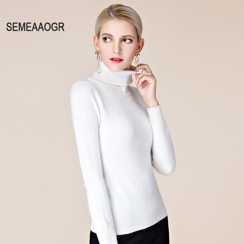 Turtleneck Pullover Sweater 2017 Autumn Winter Knitted Pullover ...