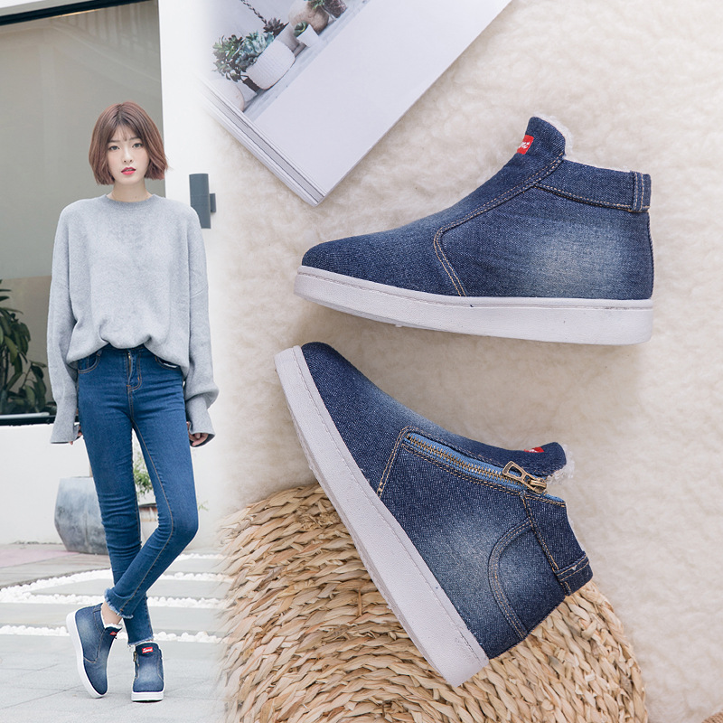 2018-New-Winter-Shoes-Women-Denim-Ankle-Boots-Classic-Zipper-Snow-Boots-Warm-Plush-Thickening-Flat(5)