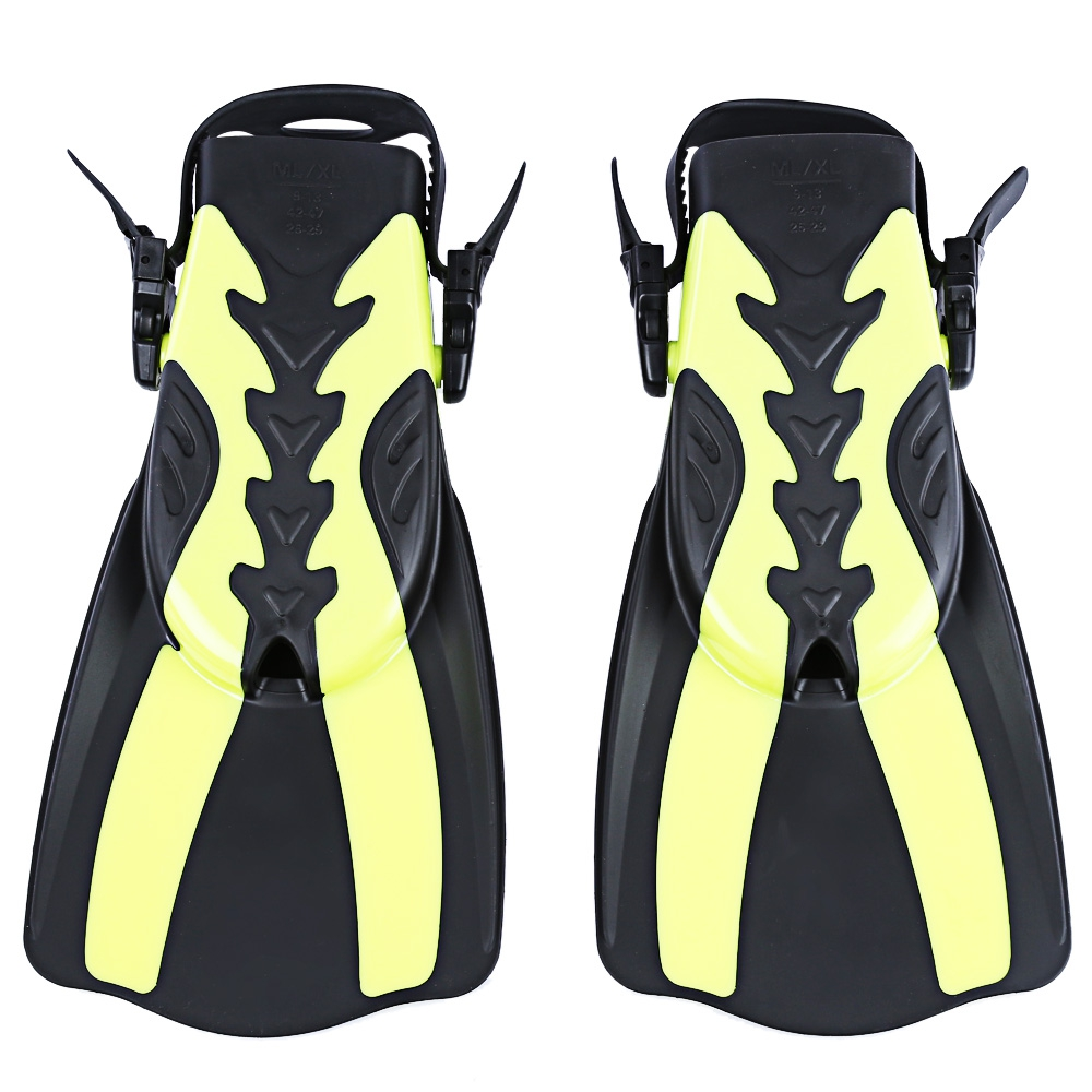 WHALE Adult Snorkeling Diving Swimming Fins Trek for Professional Diver 2 Colors M XL Swimming Foot Flipper Diving Fins 2 Sizes