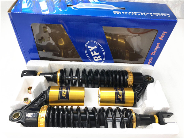 Univers 345MM 350MM 355MM Spring7MM Motorcycle Accessories Air Shock Absorber Rear Suspension For Yamaha Honda Suzuki