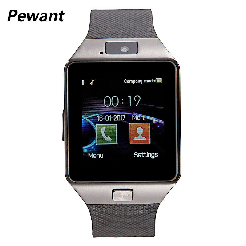 Factory Wholesale Original DZ09 Smart Watch With Camera Bluetooth WristWatch SIM Card For Android Smart Phone