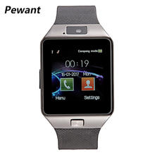 Factory Wholesale Original DZ09 Smart Watch With Camera Bluetooth WristWatch SIM Card For Android Smart Phone Smartwatch DZ 09(China)