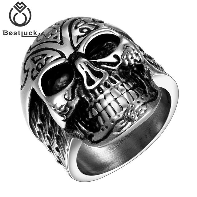 High Quality Cool Skull Ring